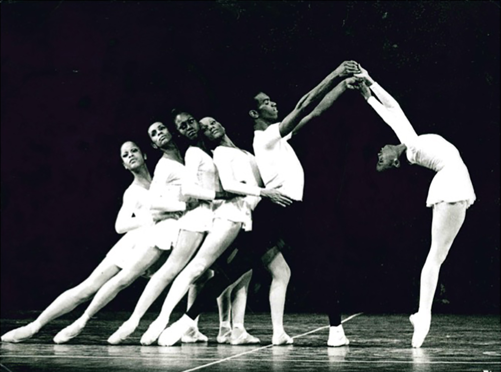 5969b99ef Dance Theatre of Harlem performs Concerto Barocco, choreographed by George  Balanchine. The company premiered this ballet, its first Balanchine piece,  ...